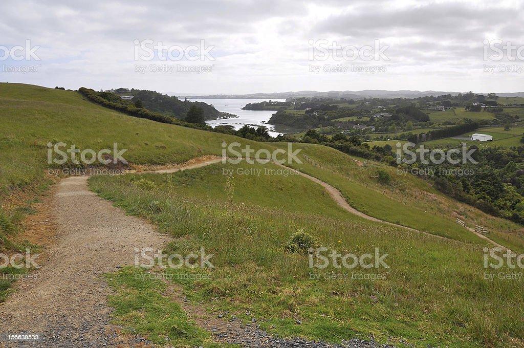 Seaside path royalty-free stock photo