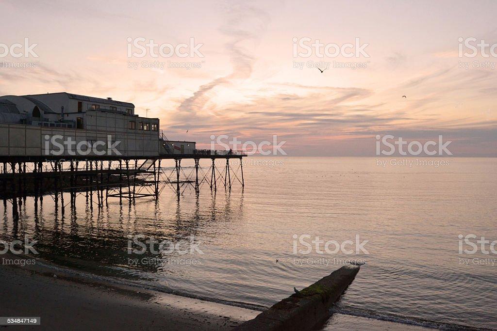 Seaside Pier - Stock Photo stock photo