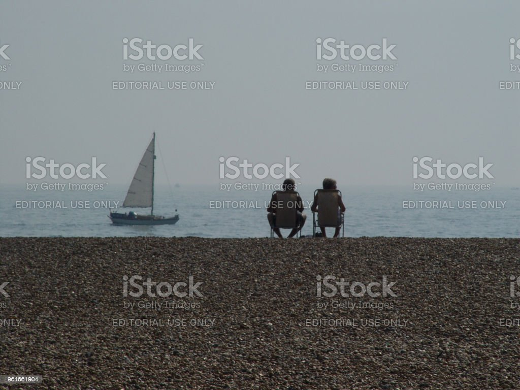 Seaside rest royalty-free stock photo