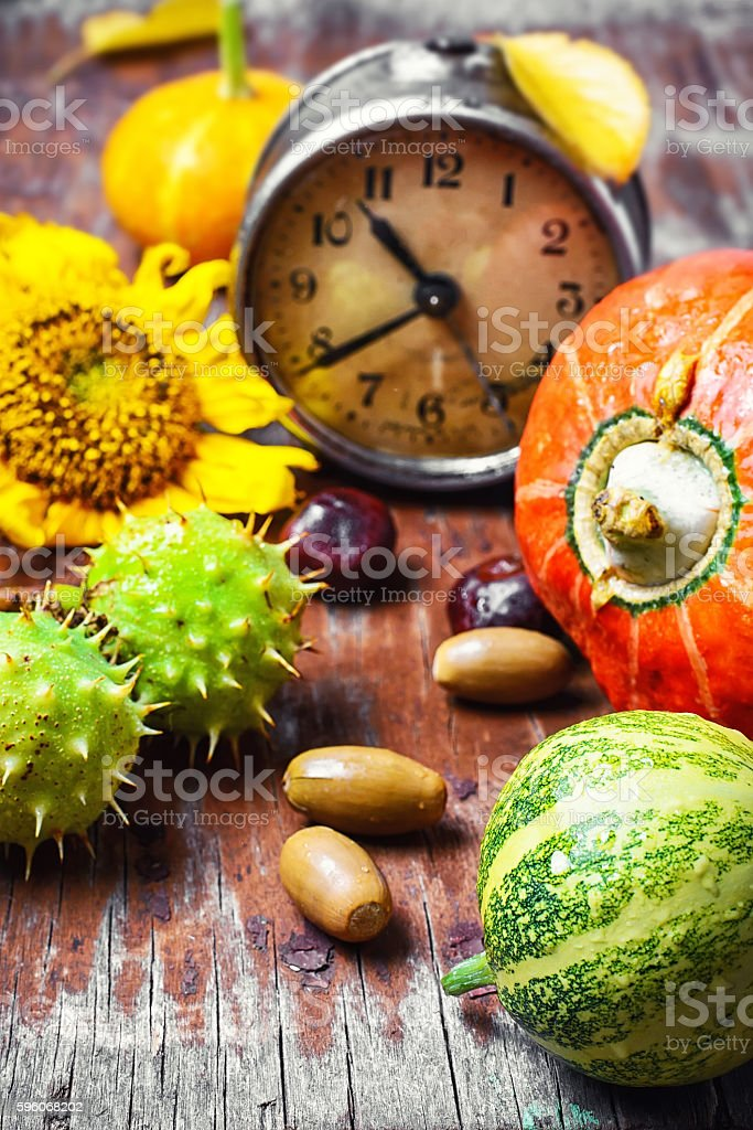 Season of autumn harvest royalty-free stock photo