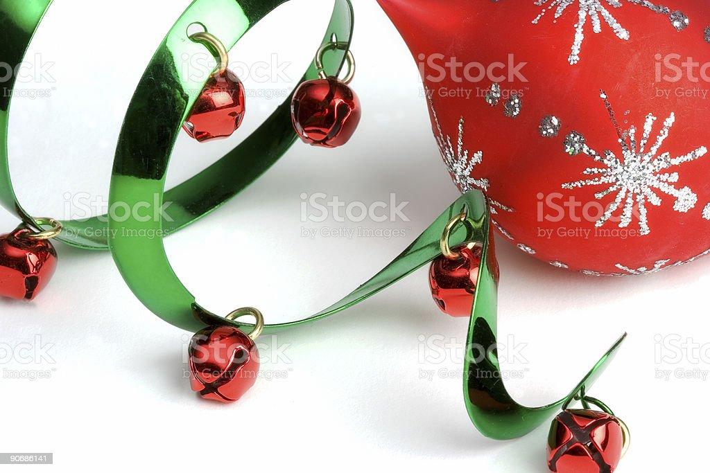 Seasonal Ornaments stock photo