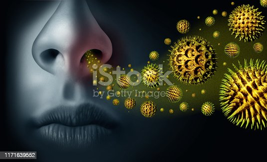 istock Seasonal Pollen Allergy 1171639552