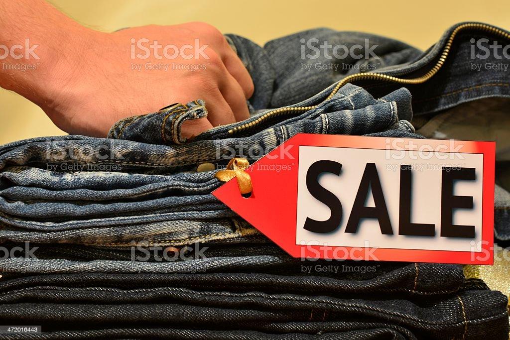 Seasonal sale stock photo
