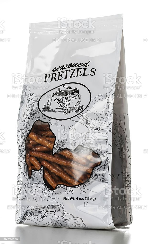 Seasoned Pretzels by East Shore Specialty Foods royalty-free stock photo