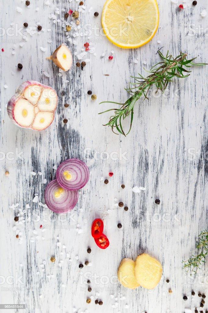 Seasoning for meat zbiór zdjęć royalty-free