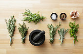 Seasoning: Herbs and Spices Still Life