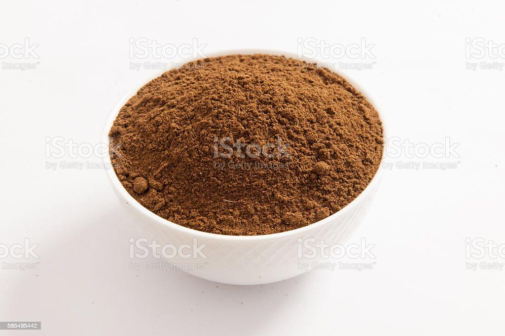 Seasoning Spices - Garam masala stock photo