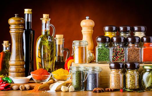 Seasoning, Spices, Seeds and Cooking Ingredients