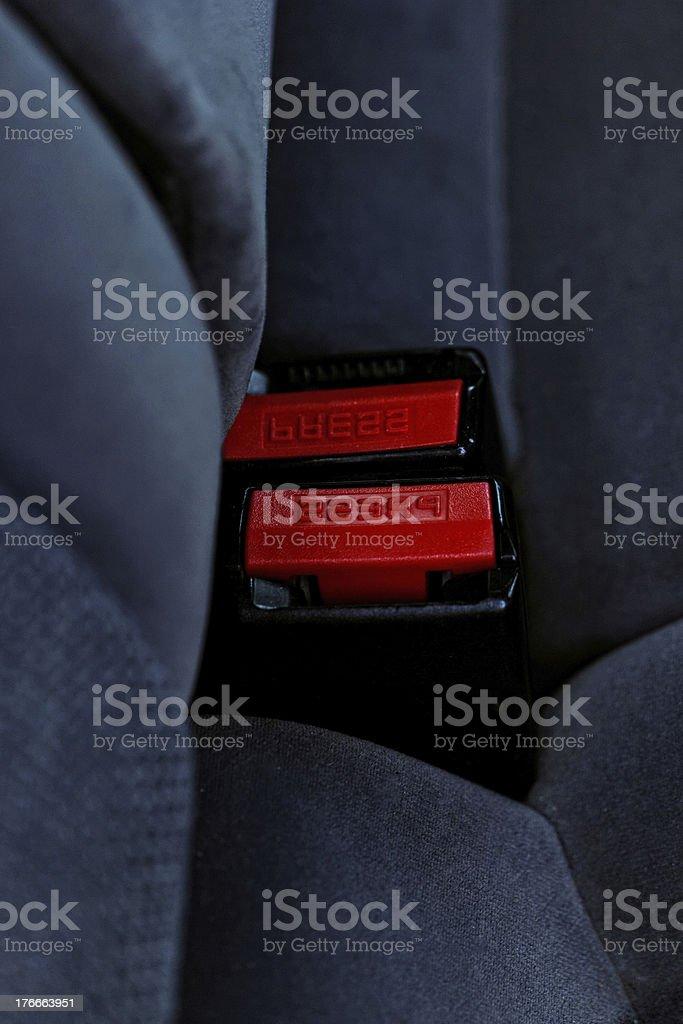 Cinturón de hebilla foto de stock libre de derechos