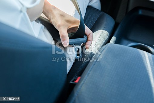 istock seat belt of motor vehicle 904403446