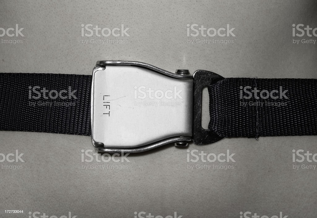 Seat belt royalty-free stock photo