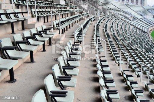 istock Seat in the stadium 139519112
