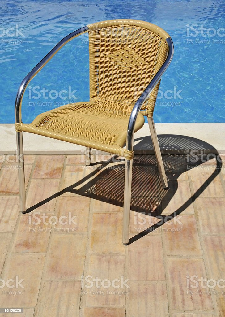 Seat in the sun royalty-free stock photo