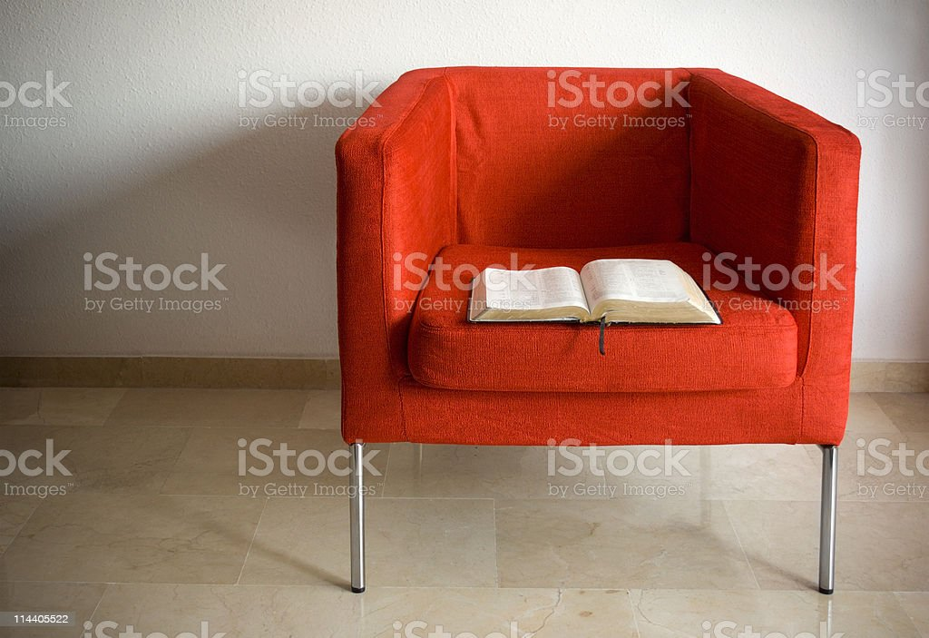Seat of Knowledge stock photo