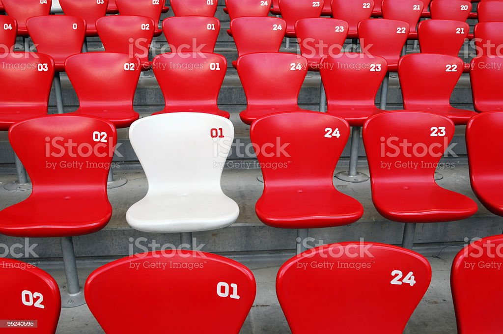 VIP Seat royalty-free stock photo