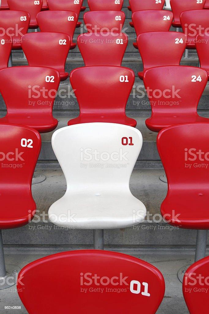 VIP Seat royalty-free stock photo