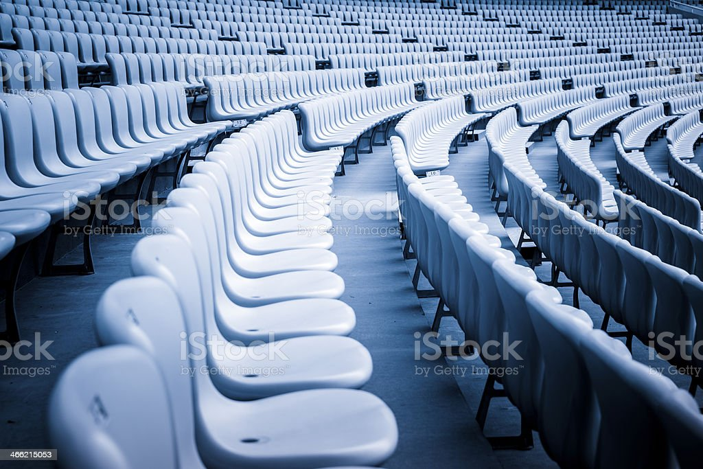 seat stadium royalty-free stock photo