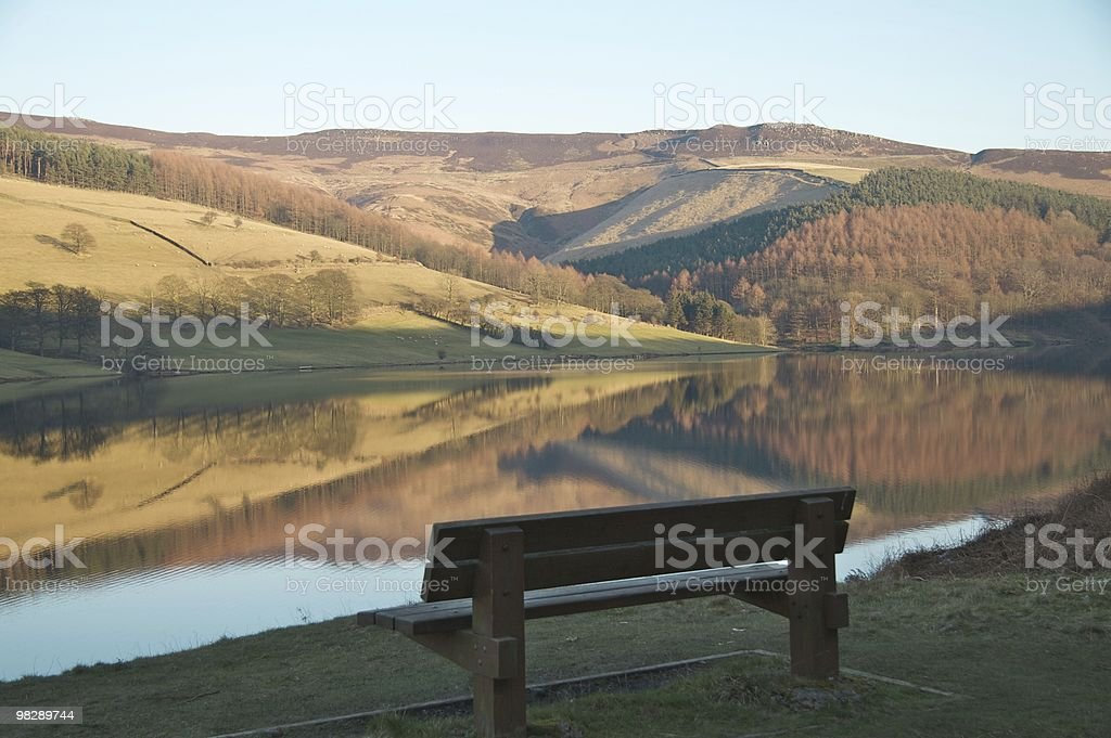 Seat to reflect on royalty-free stock photo