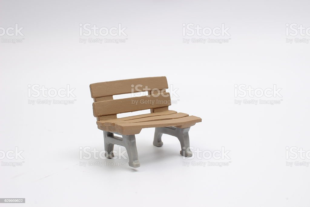 seat toy on a white back ground stock photo