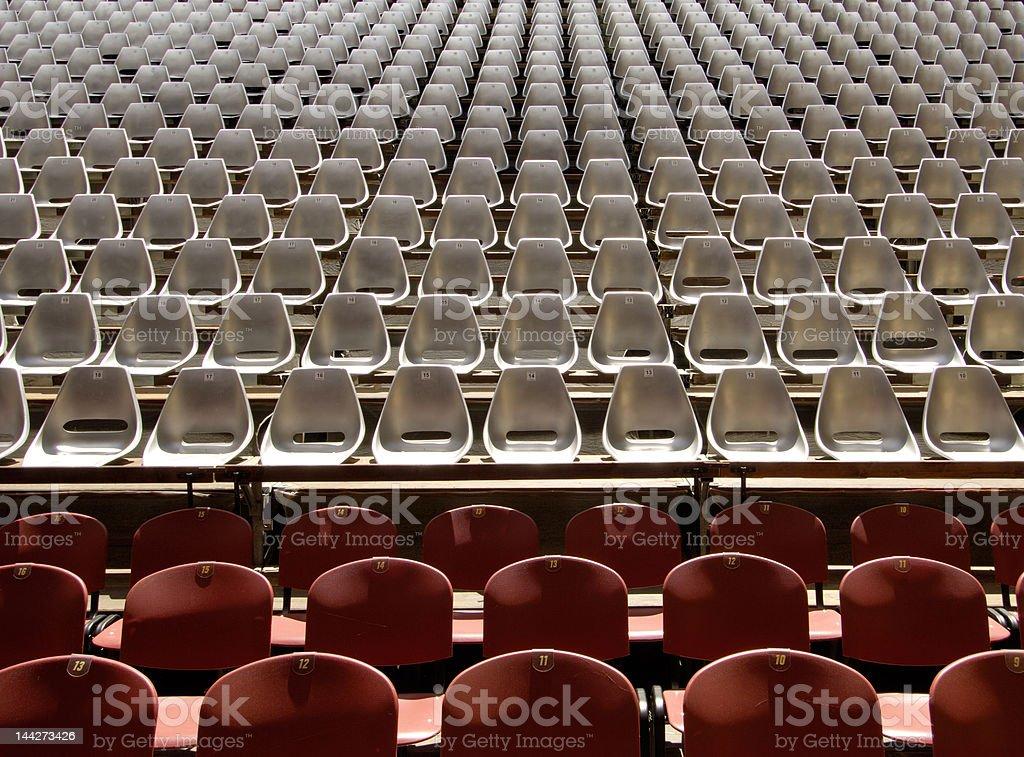Seating at Auditorium Concert Event stock photo