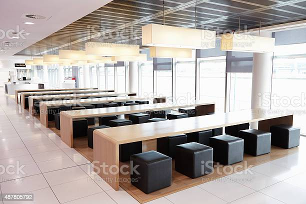 Seating in the empty cafeteria of a large business picture id487805792?b=1&k=6&m=487805792&s=612x612&h=xfpiria0ass 3qnth cn f8o2h8qjlg19tc1zoflt2u=