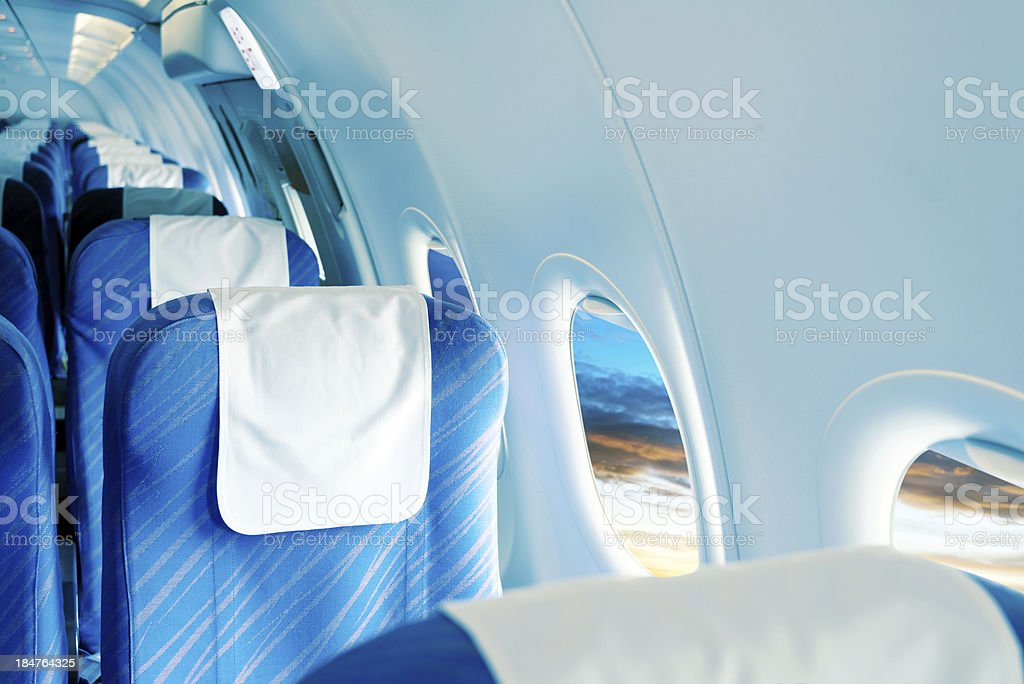 Seats And Folding Table stock photo
