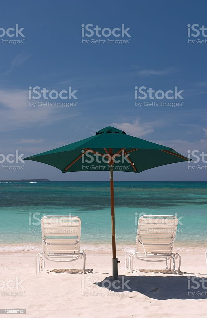 Seats for Two stock photo