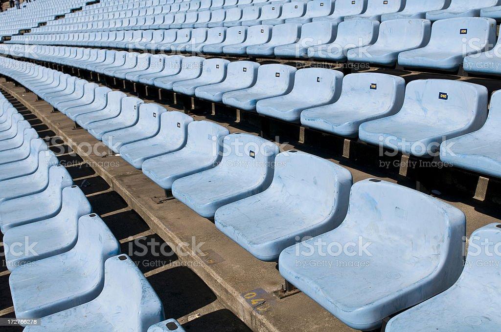 Seats royalty-free stock photo