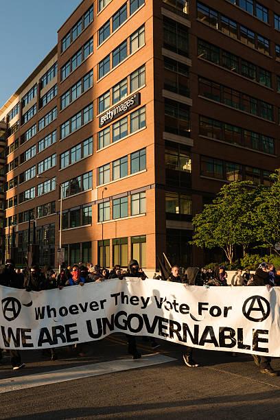 сиэтл анархисты - getty images стоковые фото и изображения