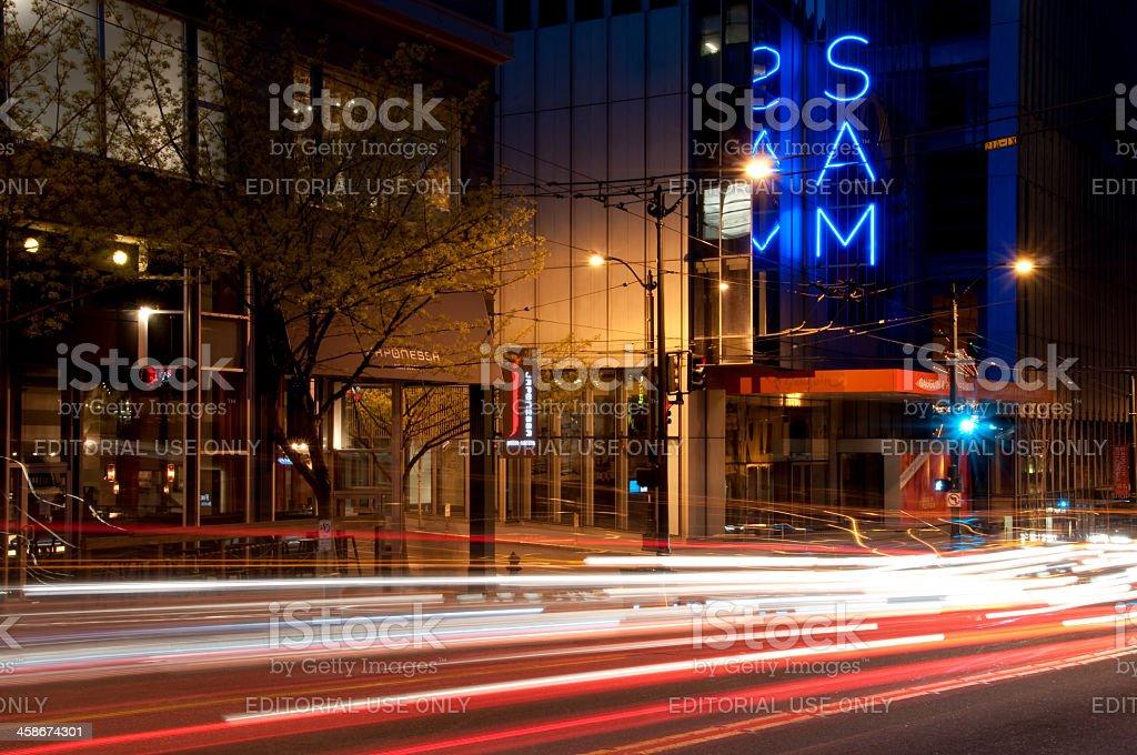 Seattle Art Museum royalty-free stock photo