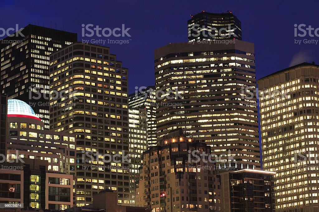 Seattle Buildings royalty-free stock photo