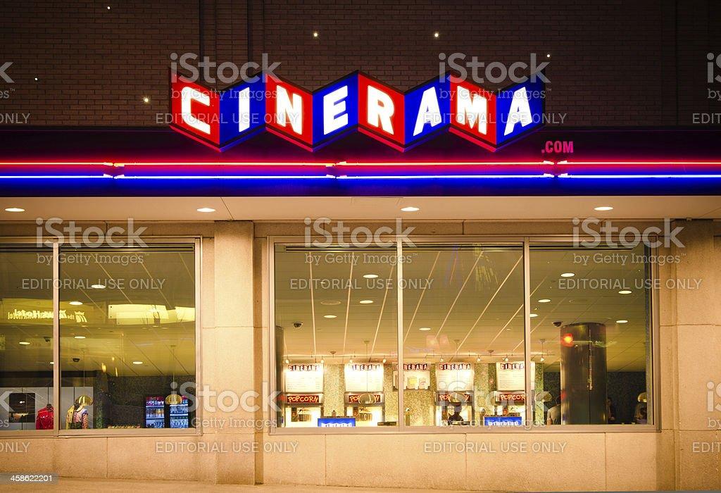 Seattle Cinerama Theatre Stock Photo - Download Image Now