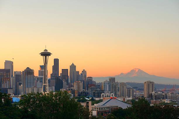 Seattle Skyline der Stadt – Foto