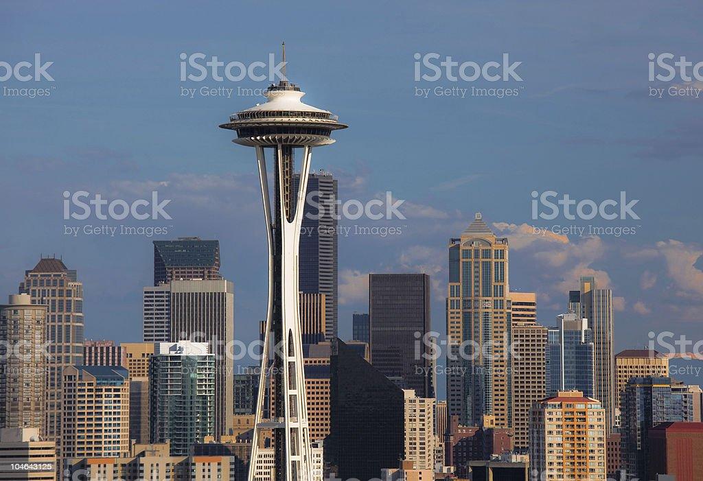 Seattle Detailed stock photo