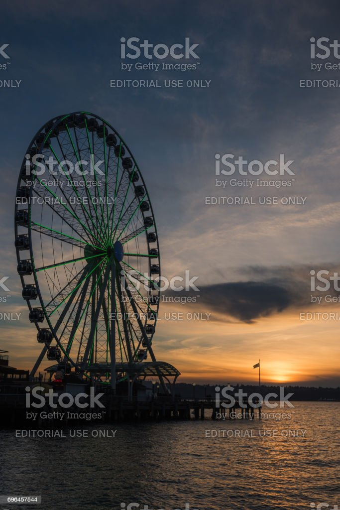 Seattle Gold stock photo