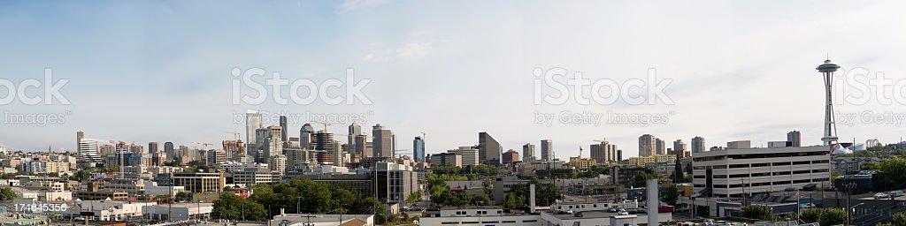 Seattle Panorama stock photo