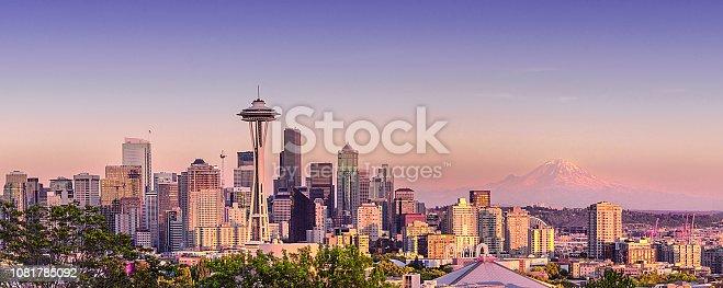 Seattle city seen from Kerri Park