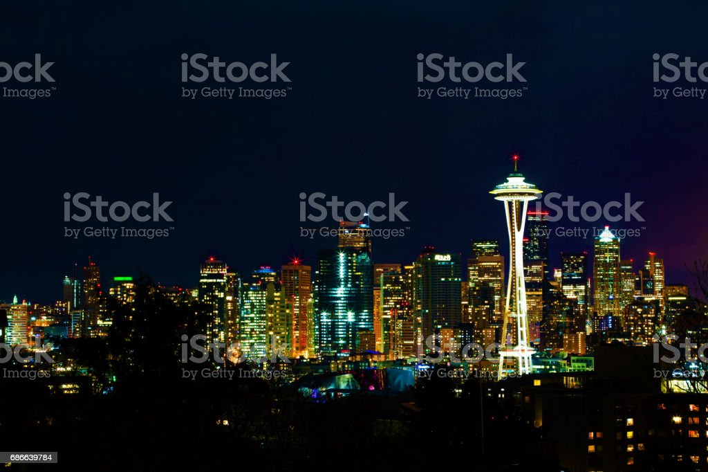 Seattle Lizenzfreies stock-foto