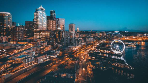 西雅圖皮爾66 - seattle 個照片及圖片檔