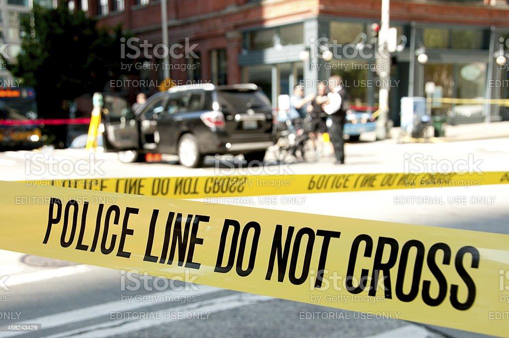 Seattle Shooting stock photo