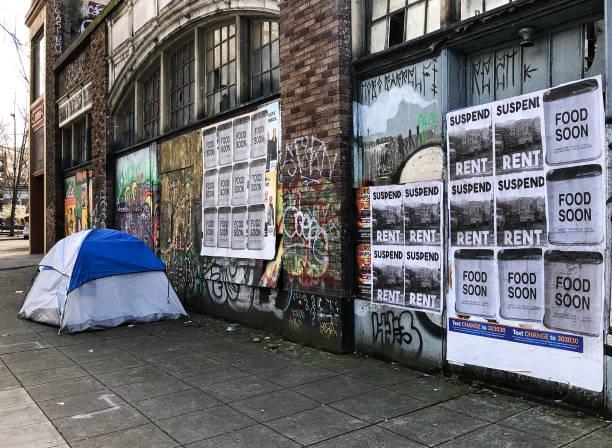 Seattle Shutdown stock photo