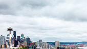 Seattle skylines.\nWashington, USA