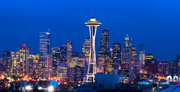 seattle skyline - seattle 個照片及圖片檔