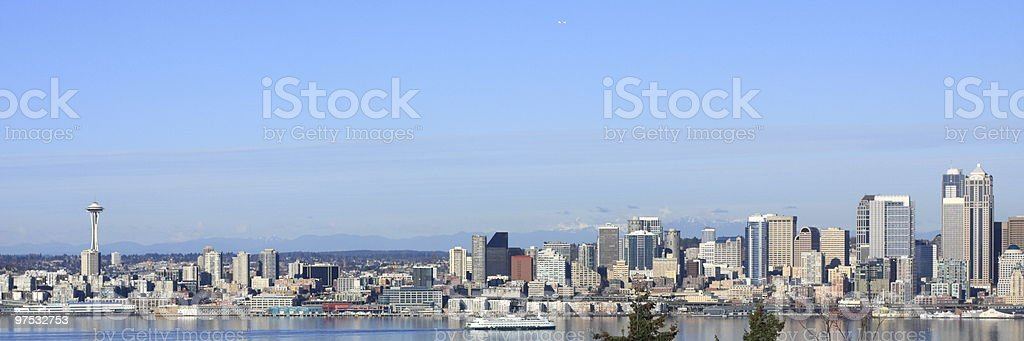 Seattle, Skyline royalty-free stock photo