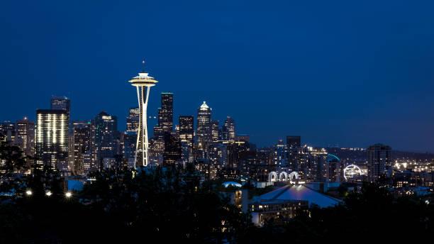 西雅圖的天際線 - seattle 個照片及圖片檔