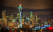 Seattle Skyline, USA taken in 2015