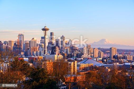 Seattle skyline, WA