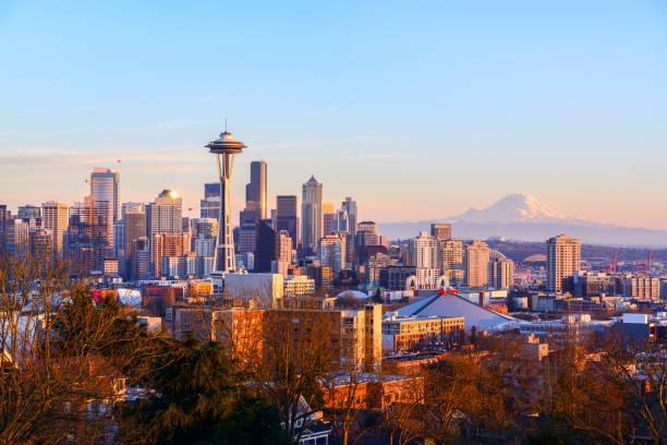 西雅圖地平線, 華盛頓州 - seattle 個照片及圖片檔