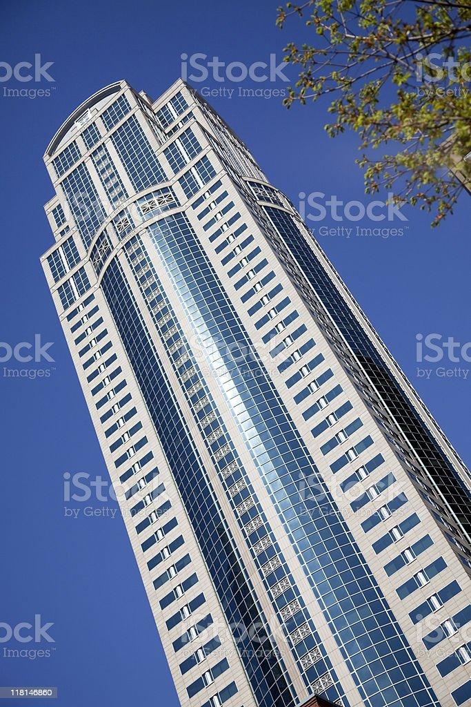 Seattle Skyscraper stock photo