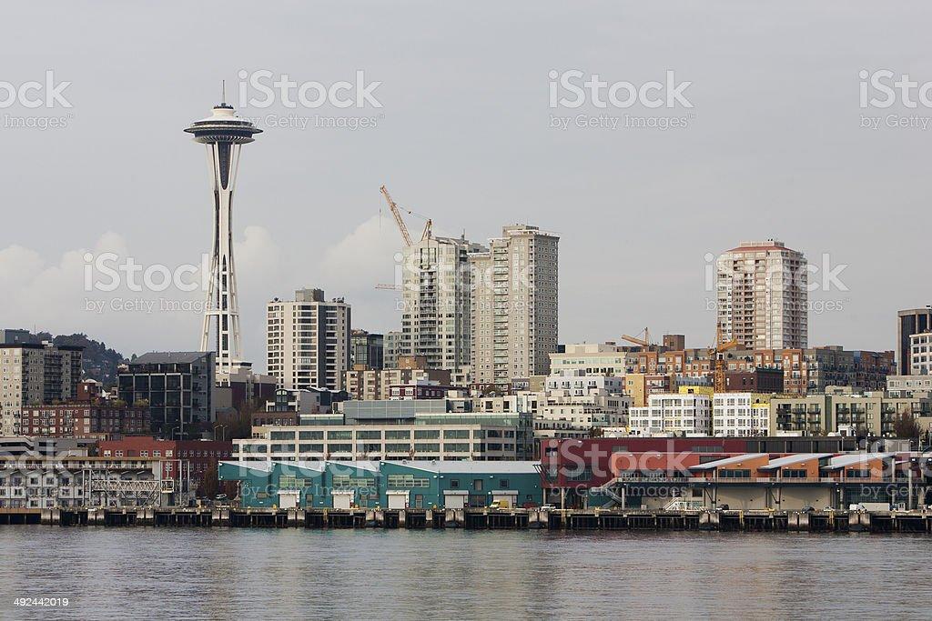 Seattle Space Needle stock photo